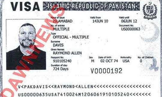 Raymond-Davis-Passport