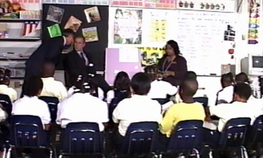 bush-classroom-911