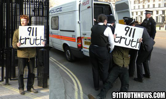 Civil Disobedience at Downing Street for 9/11 Justice: An Interview with Gareth Newnham